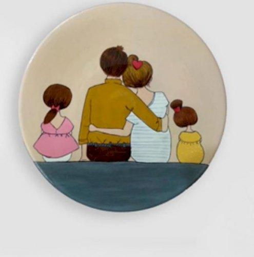 نقاشی روی سفال - فروش به نفع کودکان کار